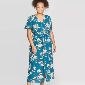 Target Plus Floral Maxi Dress